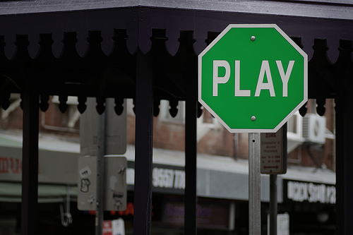 play-sign